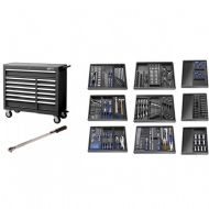 Britool Expert E220334B Roller Cabinet Toolkit 390 Piece Black